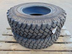 2 x Michelin LT235/85 R16 XZL Tyres