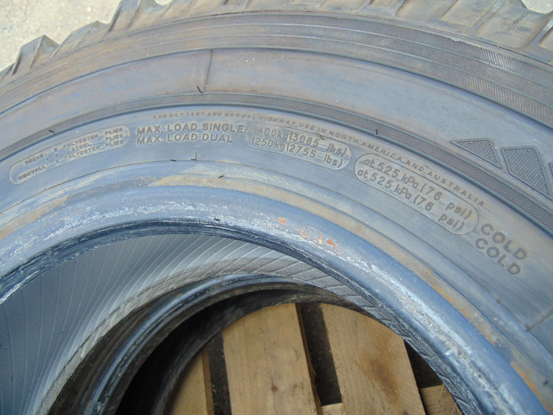 Lot 24 - 2 x Michelin LT235/85 R16 XZL Tyres