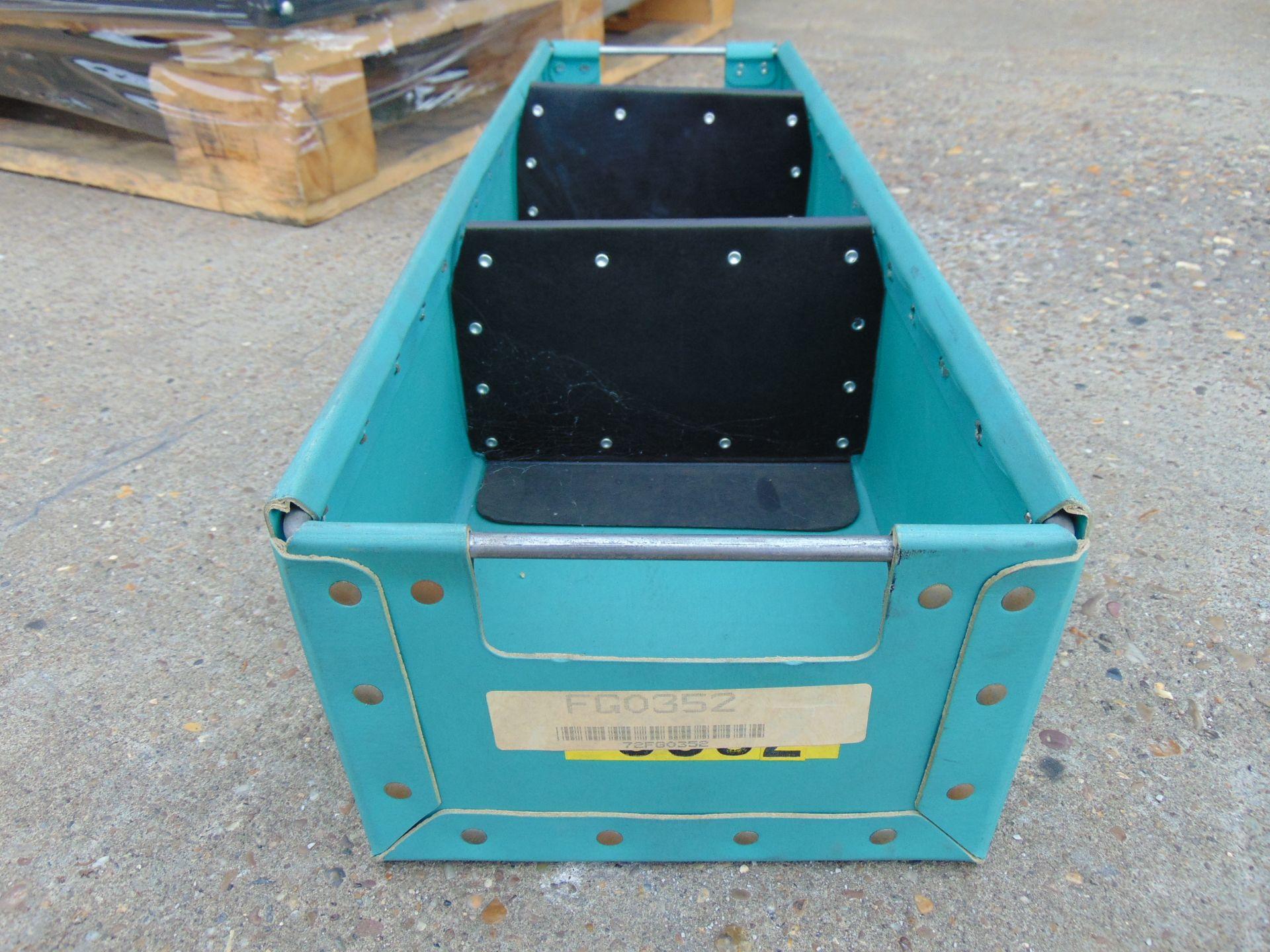 Lot 45 - 120 x Heavy Duty Tote Storage Boxes with Dividers