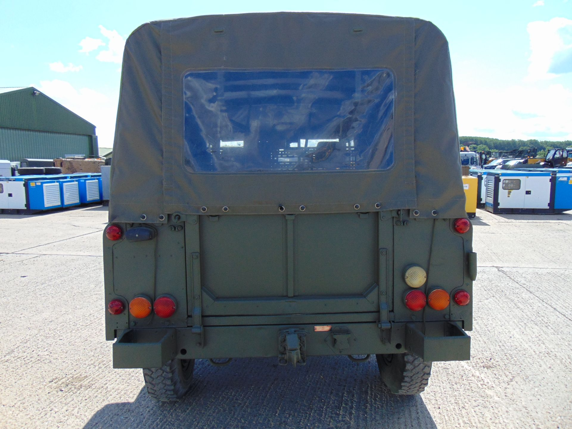 Lot 4 - Land Rover Wolf 110 Soft Top