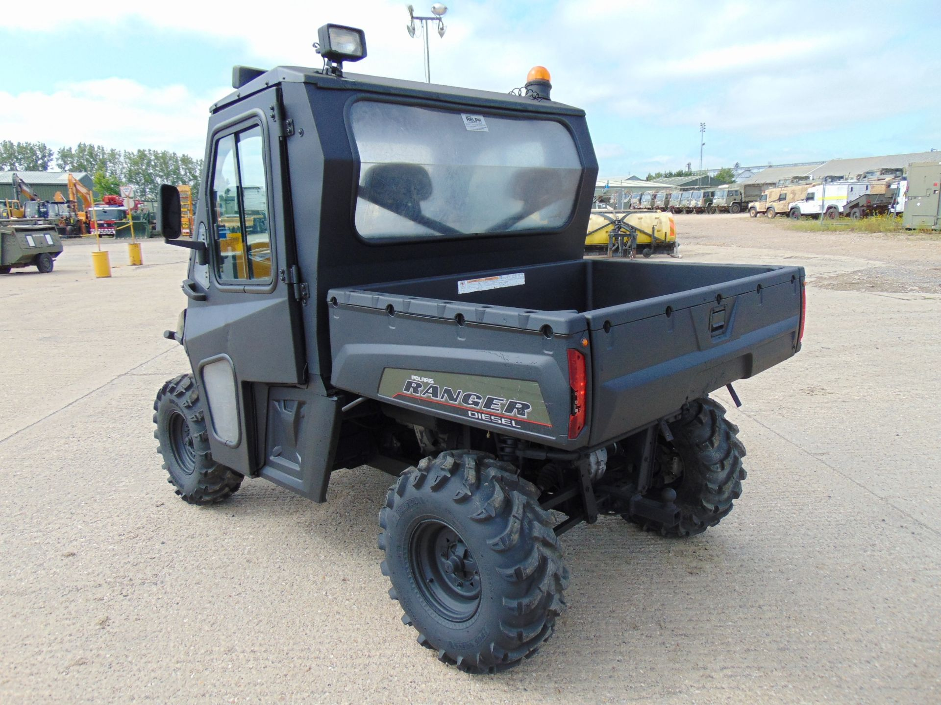 Lot 10 - 2012 Polaris Ranger 4WD ATV