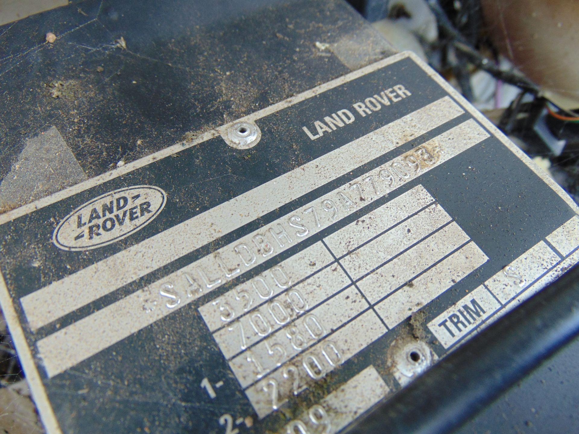 Lot 7 - Land Rover Defender 110 High Capacity Cherry Picker