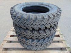 4 x Lassa 6.00-16 C Tyres