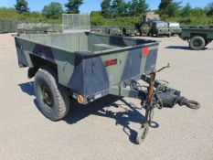 Ex Reserve Sankey 3/4 ton widetrack trailer