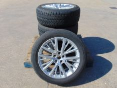 4 x Range Rover Alloy Wheels C/W Vredstein Wintrac 4 Xtreme 255/50 R20 Tyres