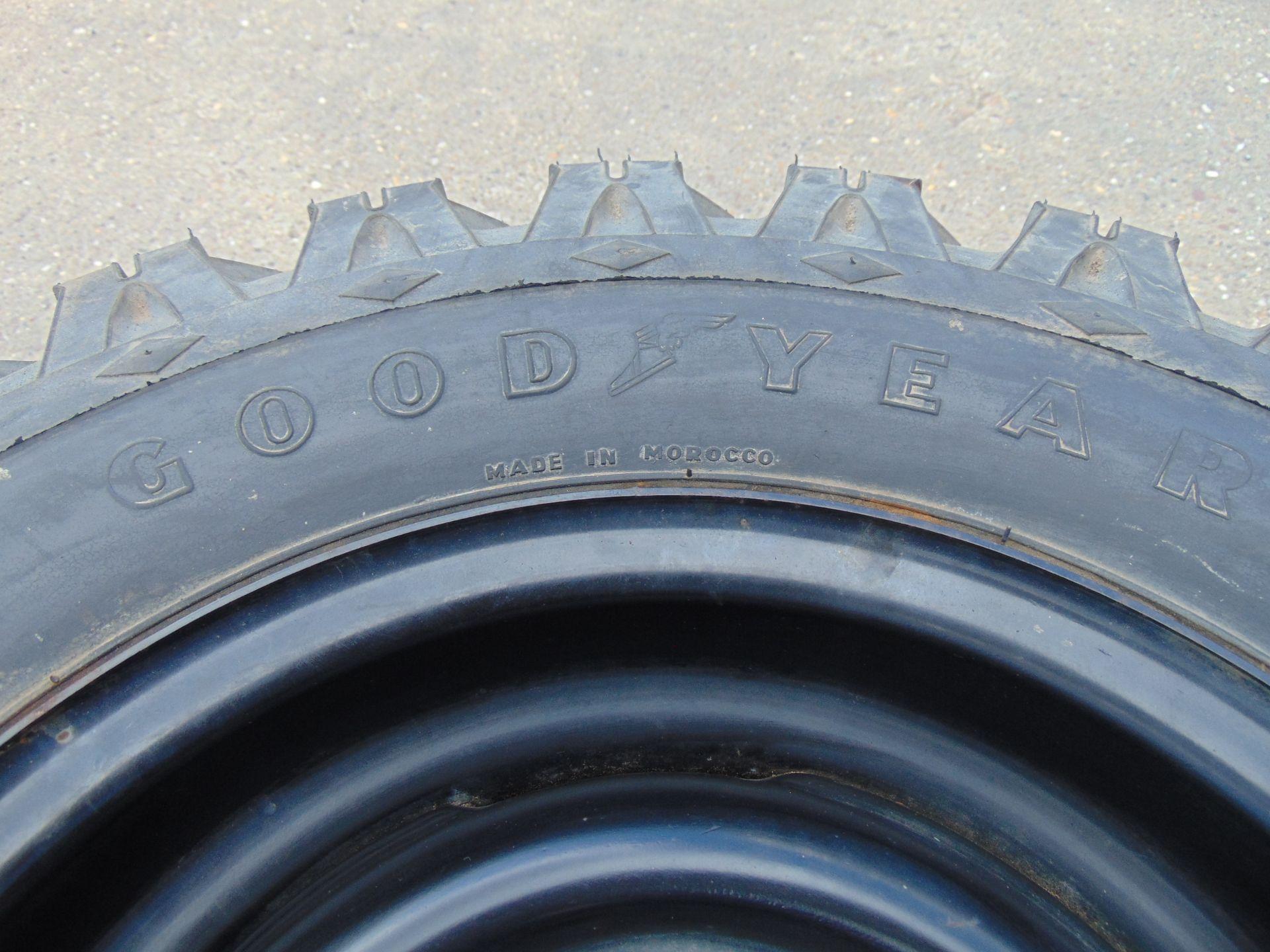Lot 25 - 2 x Goodyear 7.50-16 Hi-Miler Xtra Grip Tyres C/W 5 Stud Rims