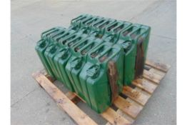10 x Unissued NATO Issue 20L Jerry Can