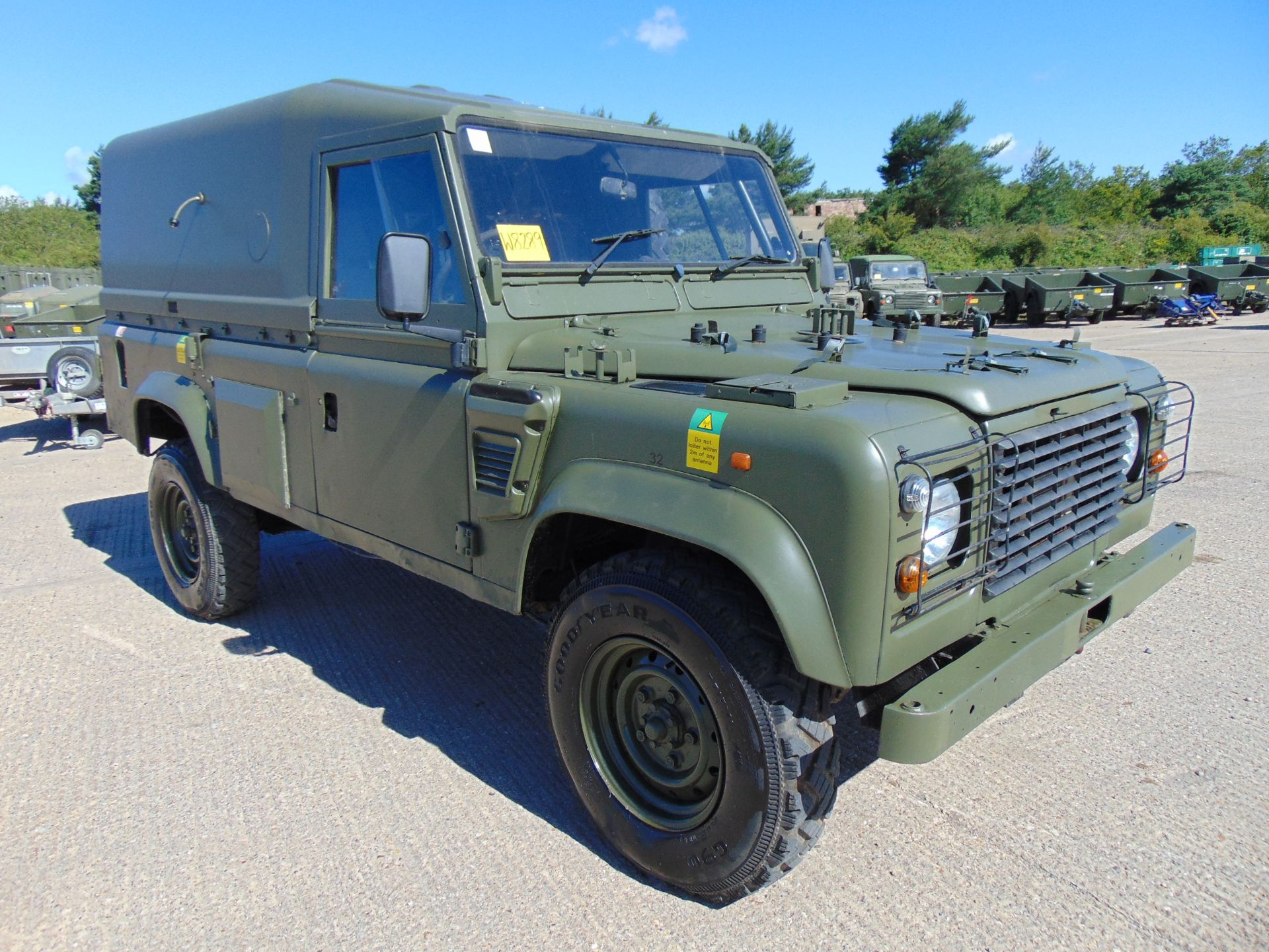 Lot 2 - Land Rover Wolf 110 Hard Top