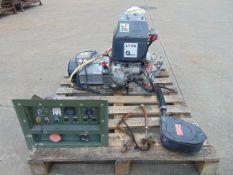 Lister Petter Markon 5 KVA Single Phase Diesel Generator ONLY 646 Hours!