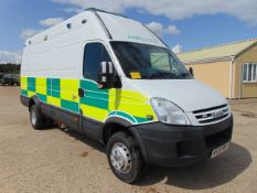 2008 Iveco Daily 65C18V 3.0 HPT Long Wheel Base High roof panel van ONLY 15,366 MILES!