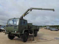 Leyland DAF 4X4 Truck complete with Atlas Crane