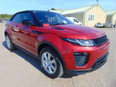 2017 model year a NEW & UNUSED Range Rover Evoque 2.0 i4 HSE dynamic convertible