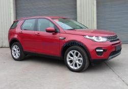 NEW & UNUSED Land Rover Discovery Sport 2.0 Si4 SE LHD