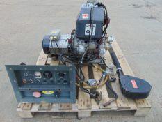 Lister Petter Markon 5 KVA Single Phase Diesel Generator ONLY 257 Hours!