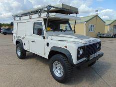 Land Rover Defender 110 Puma Hardtop 4x4 Special Utility (Mobile Workshop)