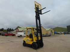 Hyster H2.50XM Counter Balance Diesel Forklift C/W Side Shift ONLY 763 Hours!