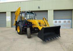 UNUSED Manitou Terex TLB844S Backhoe Excavator