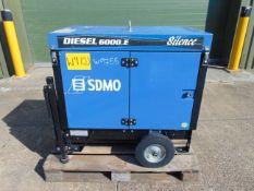 SDMO 6000E 6 KVA Electric Start Silent Diesel Generator Set