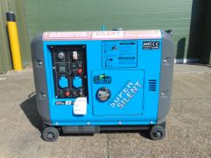 UNISSUED DG8500SE 6.5kw 230v 50hz Silent Diesel Generator Set