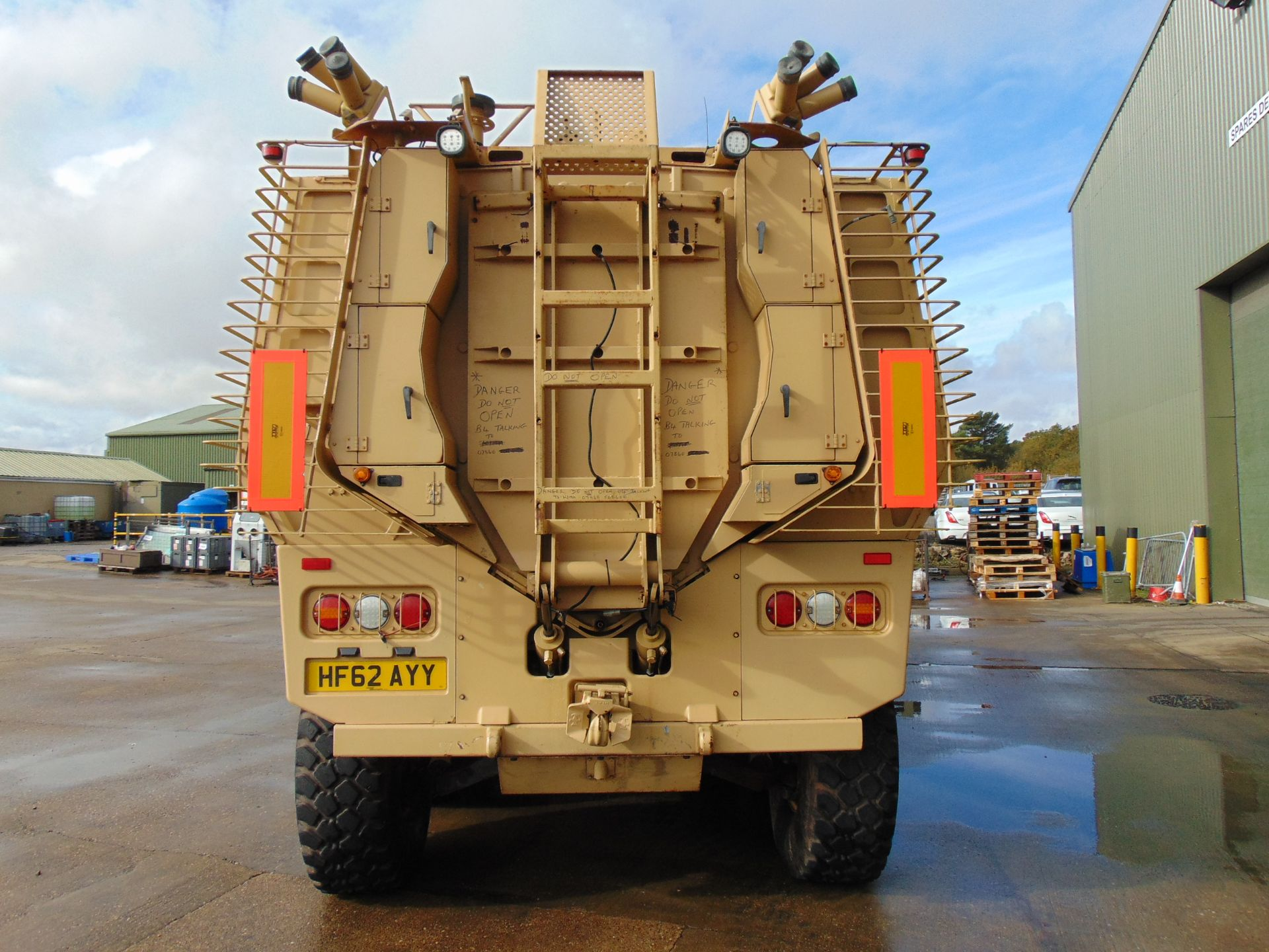 Lot 1 - 2012 RANGER 8x8 Armoured Personnel Carrier ONLY 1,354 MILES!