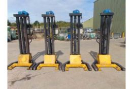 Set of 4 Somers 4T Mobile Column Vehicle Lifts (4T Per Column)