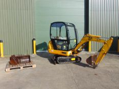 2004 JCB 8015 1.5 tonne Mini Digger ONLY 2,592 HOURS!