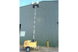 SMC TL90 Perkins Diesel Powered Trailer Mounted Lighting Tower