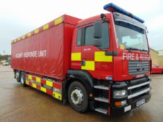 2004 MAN TG-A 6x2 Rear Steer Incident Support Unit