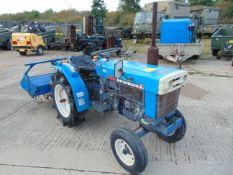Mitsubishi D1550 Compact Tractor c/w Rotovator