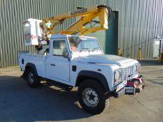 Land Rover Defender 110 High Capacity Cherry Picker