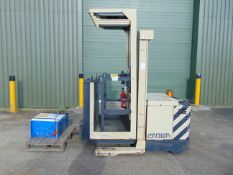 Crown SP36 1000kgs Stockpicker Man Up Electric Forklift ONLY 1,556 HOURS!