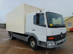 2001 Mercedes Benz Atego 1018 Box Truck C/W Tail Lift