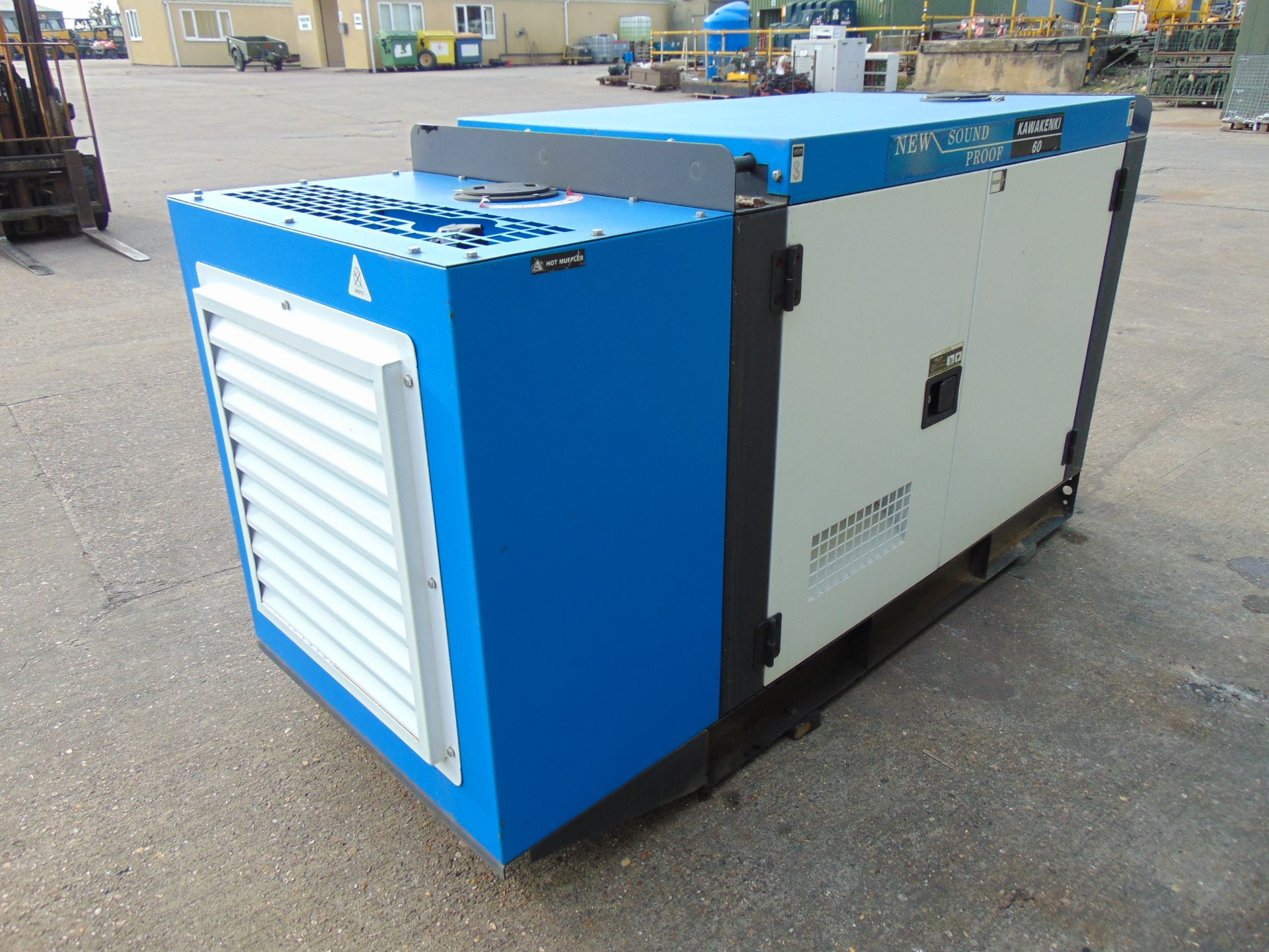 Lot 2 - UNISSUED 60 KVA 3 Phase Silent Diesel Generator Set