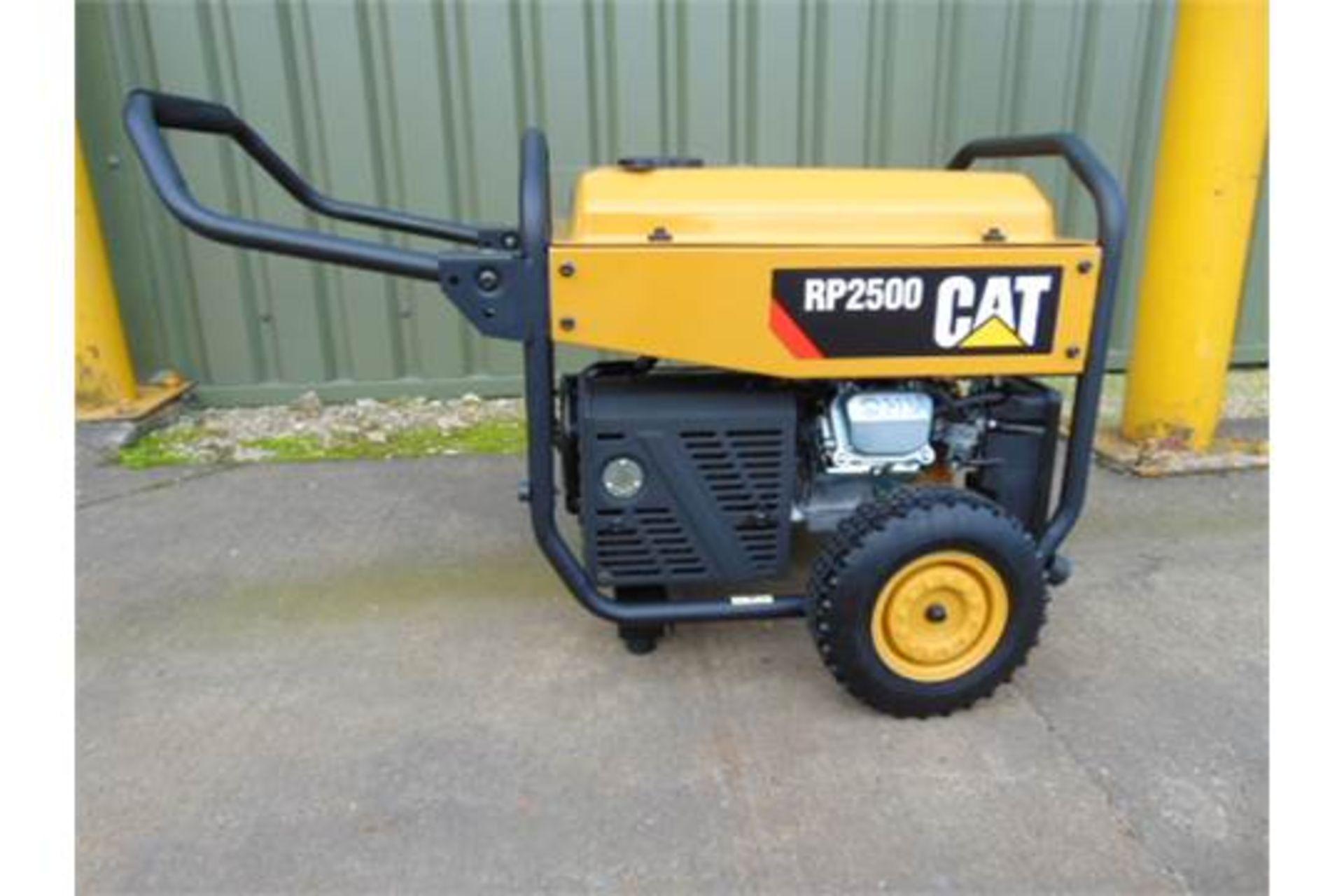 Lot 42 - UNISSUED Caterpillar RP2500 Industrial Petrol Generator Set