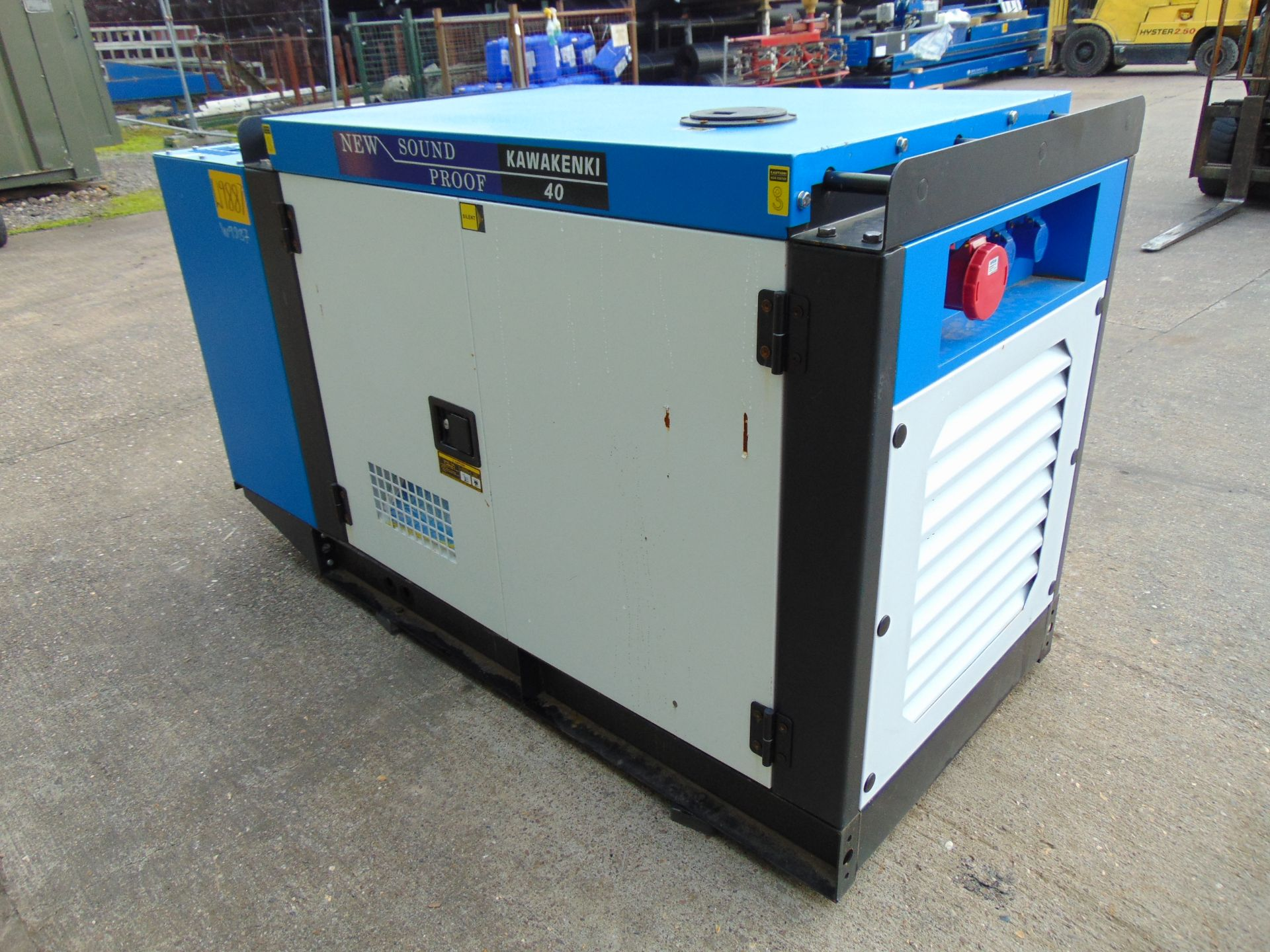 Lot 16 - UNISSUED 40 KVA 3 Phase Silent Diesel Generator Set