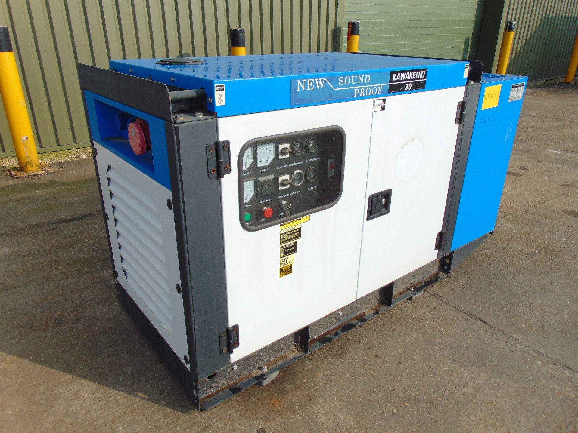 Lot 29 - UNISSUED 30 KVA 3 Phase Silent Diesel Generator Set