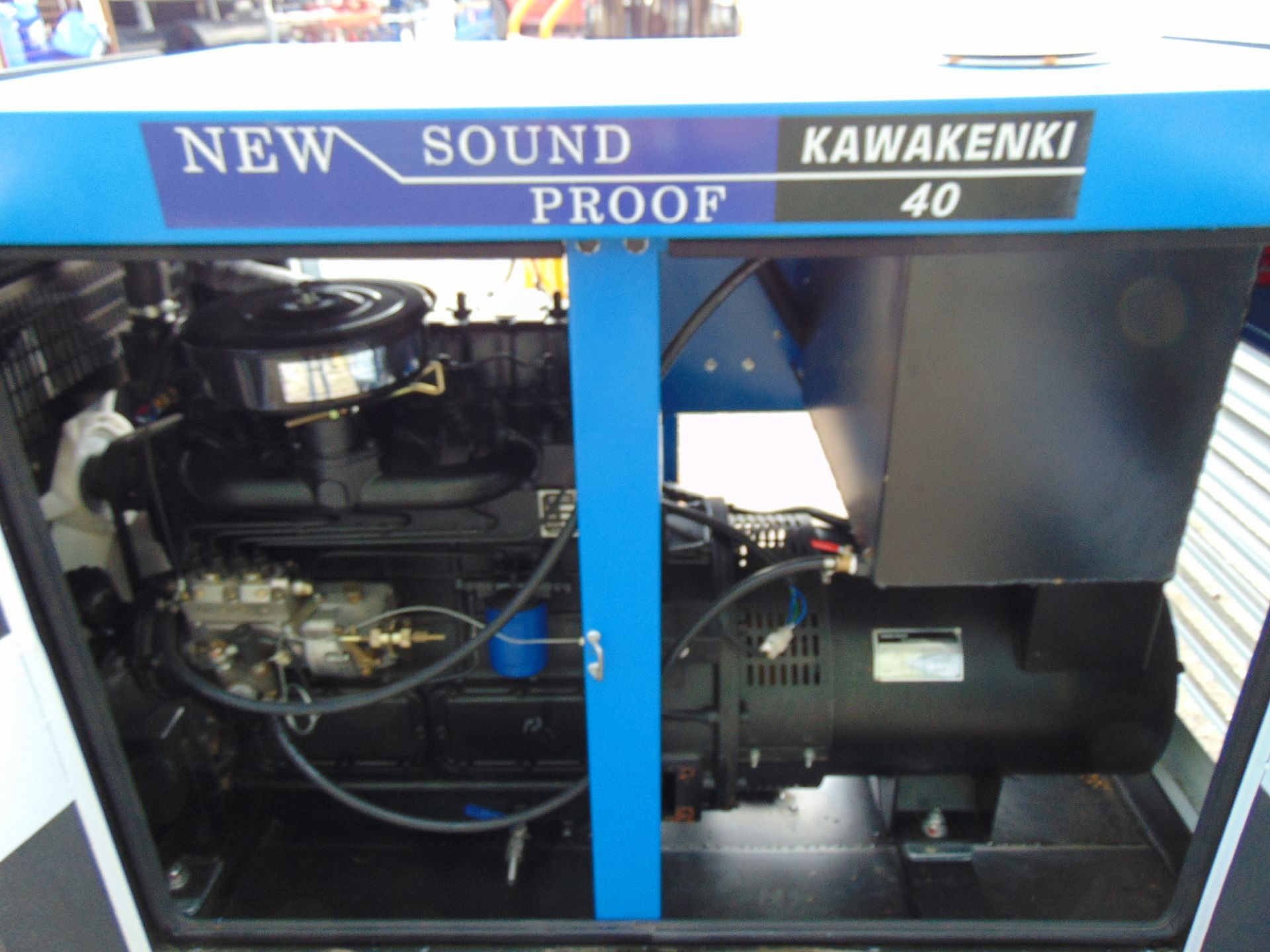 Lot 28 - UNISSUED 40 KVA 3 Phase Silent Diesel Generator Set