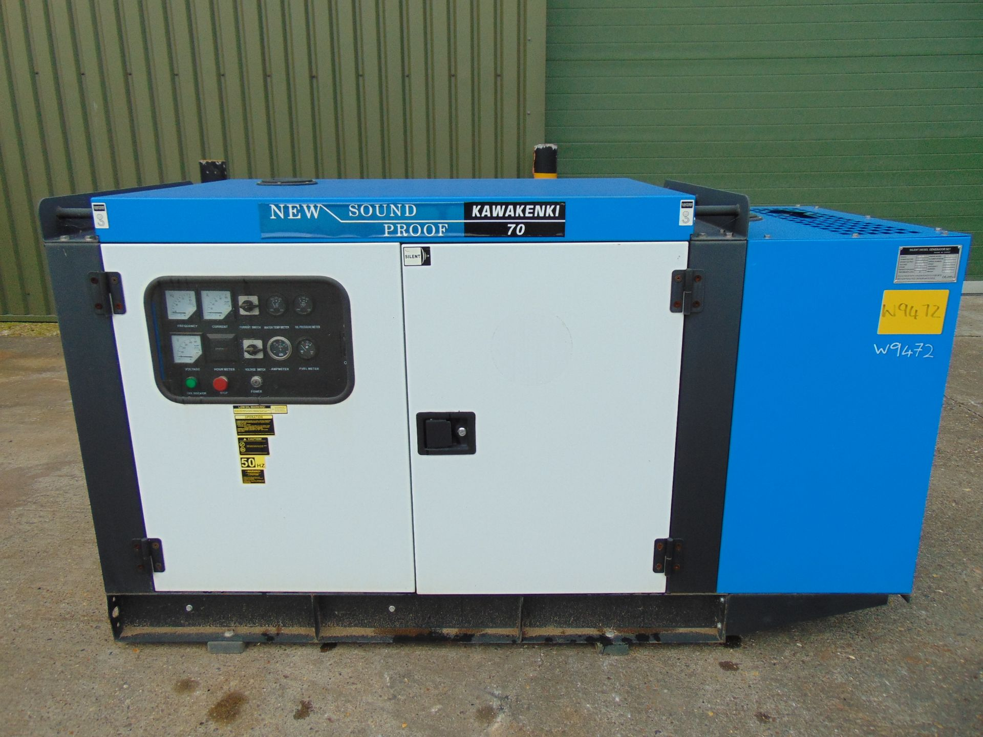 Lot 25 - UNISSUED 70 KVA 3 Phase Silent Diesel Generator Set