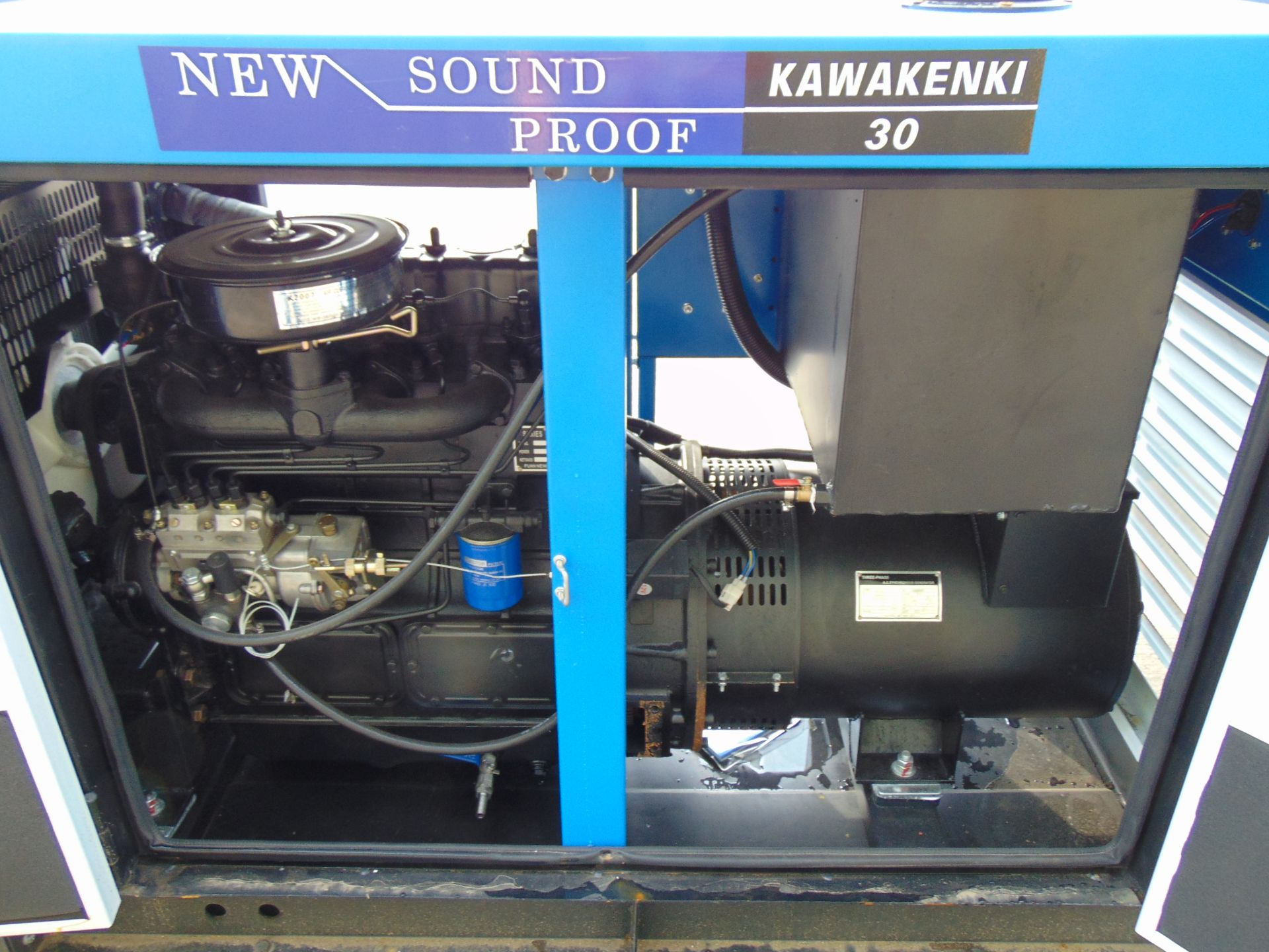 Lot 40 - UNISSUED 30 KVA 3 Phase Silent Diesel Generator Set