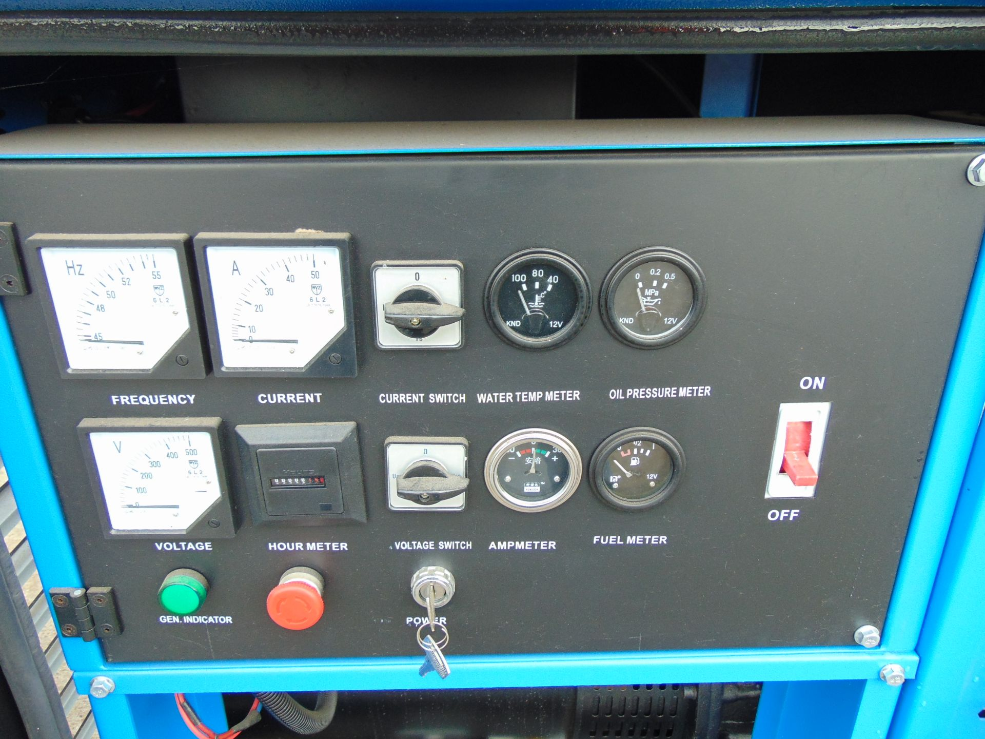 Lot 18 - UNISSUED 25 KVA 3 Phase Silent Diesel Generator Set