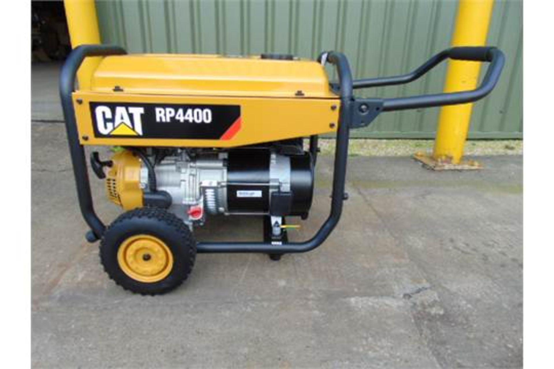Lot 36 - UNISSUED Caterpillar RP4400 Industrial Petrol Generator Set