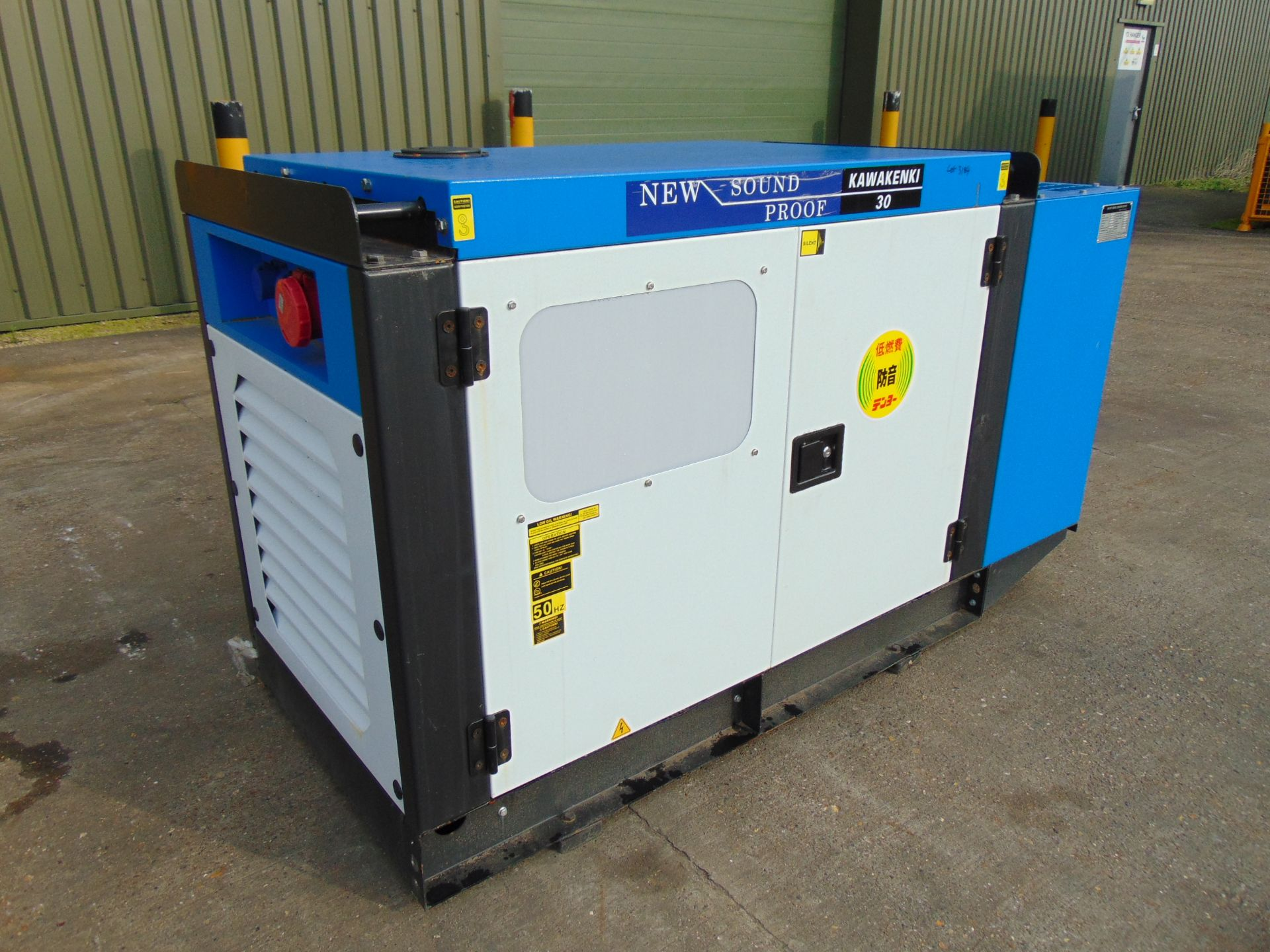 Lot 6 - UNISSUED 25 KVA 3 Phase Silent Diesel Generator Set