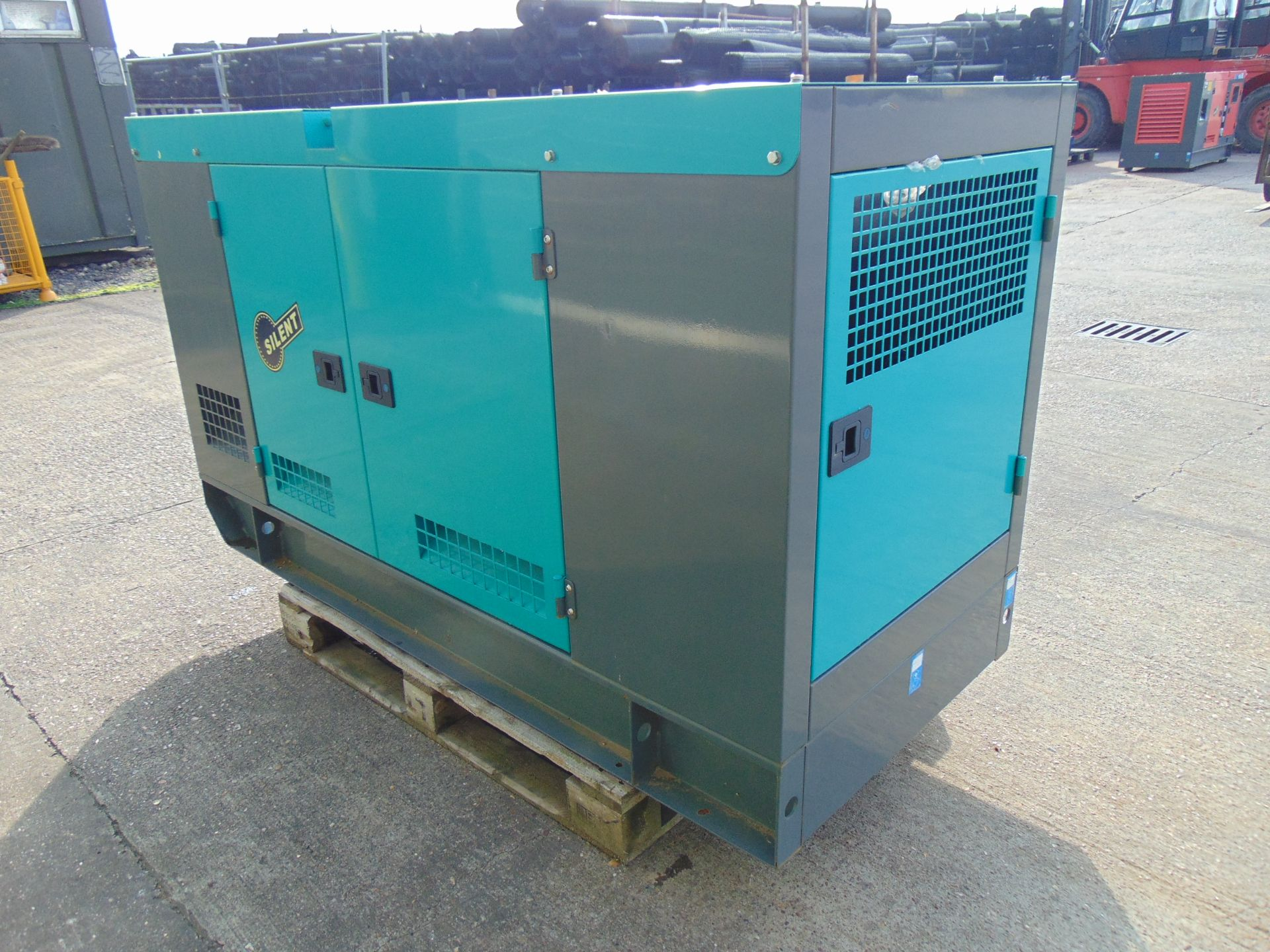 Lot 27 - UNISSUED 50 KVA 3 Phase Silent Diesel Generator Set