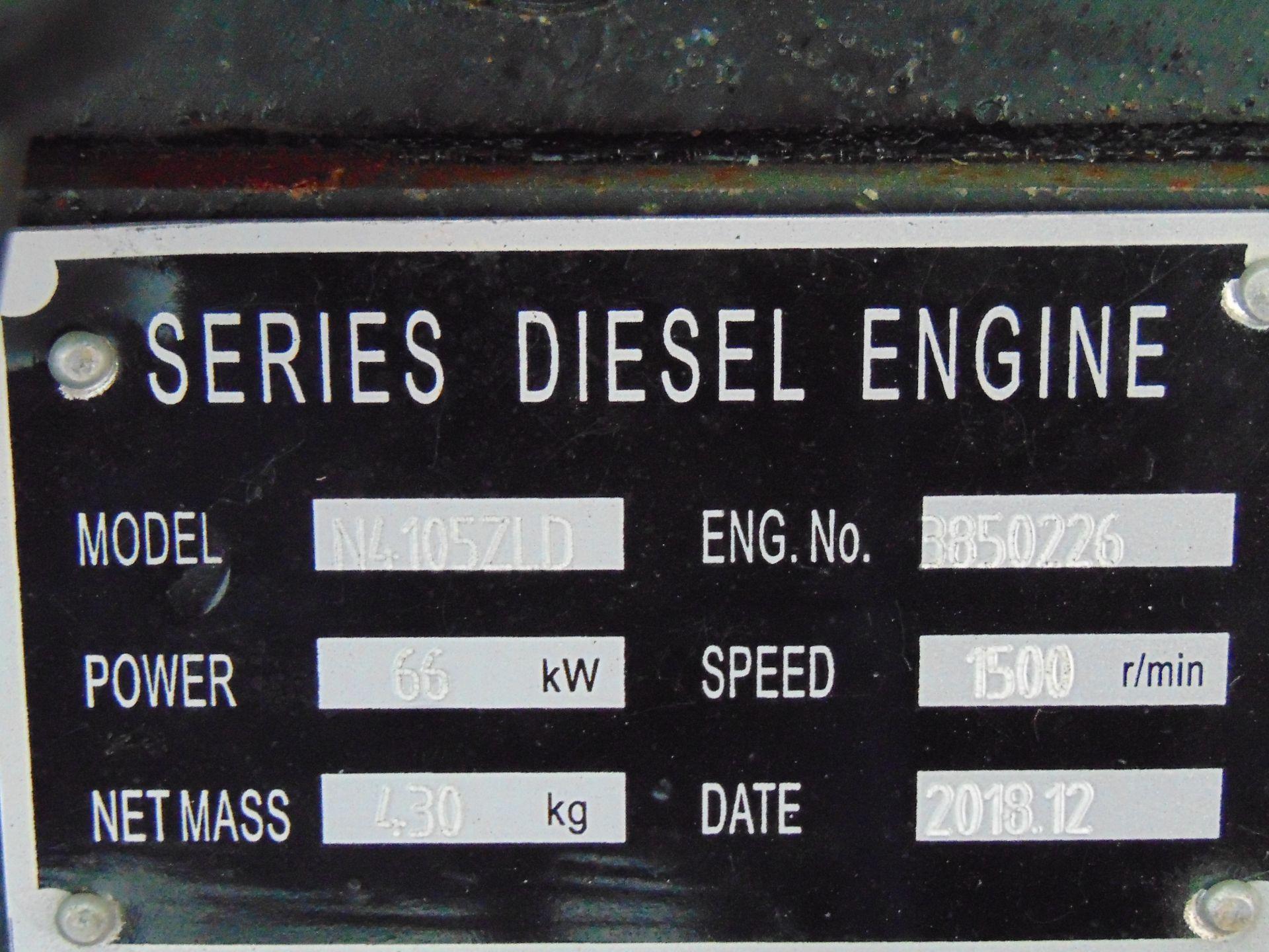 Lot 1 - UNISSUED 70 KVA 3 Phase Silent Diesel Generator Set