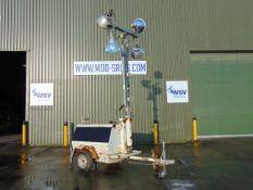 Terex Amida AL4050D-4MH Kubota Diesel Powered Trailer Mounted Lighting Tower