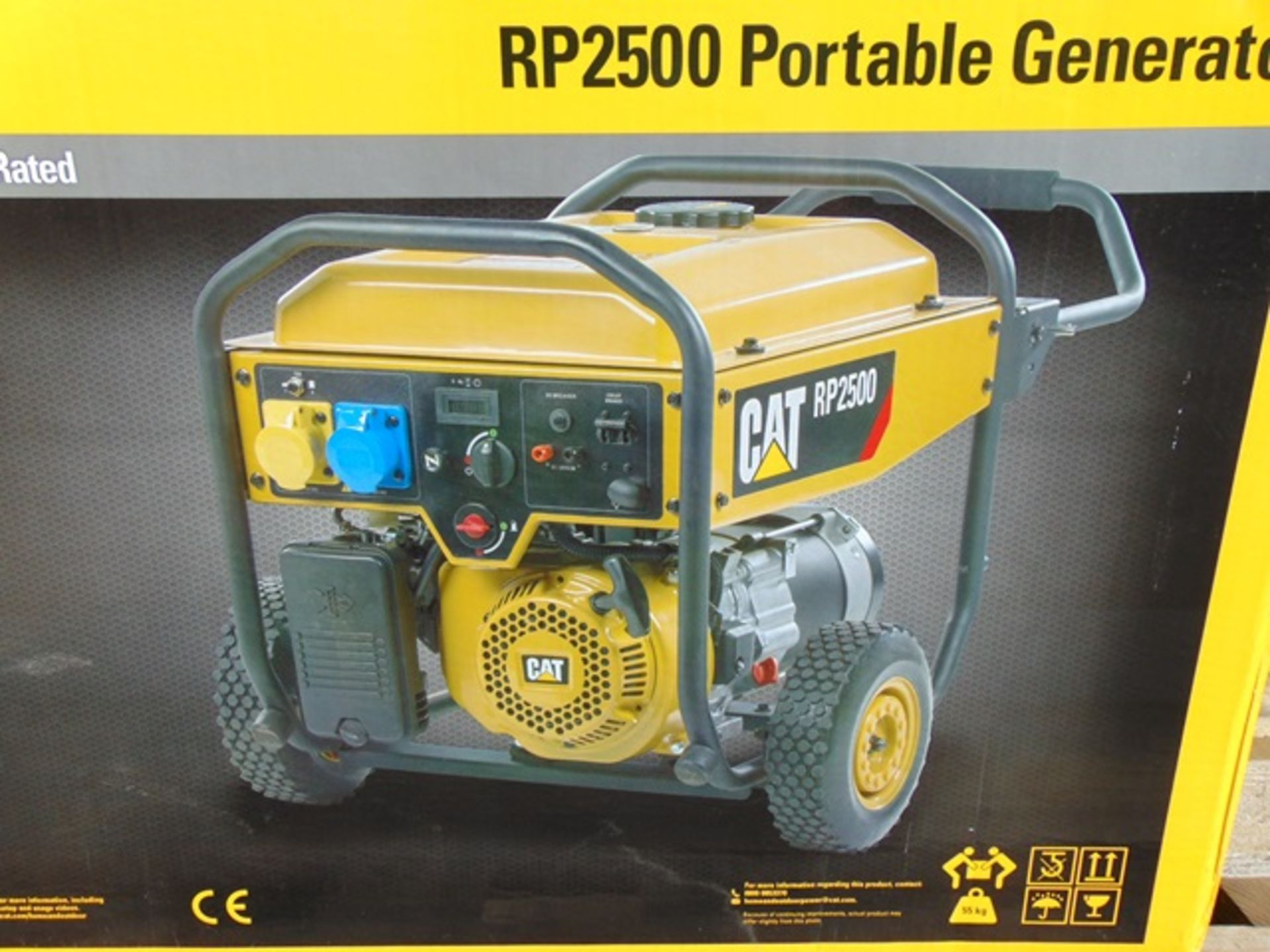 Lot 19 - UNISSUED Caterpillar RP2500 Industrial Petrol Generator Set