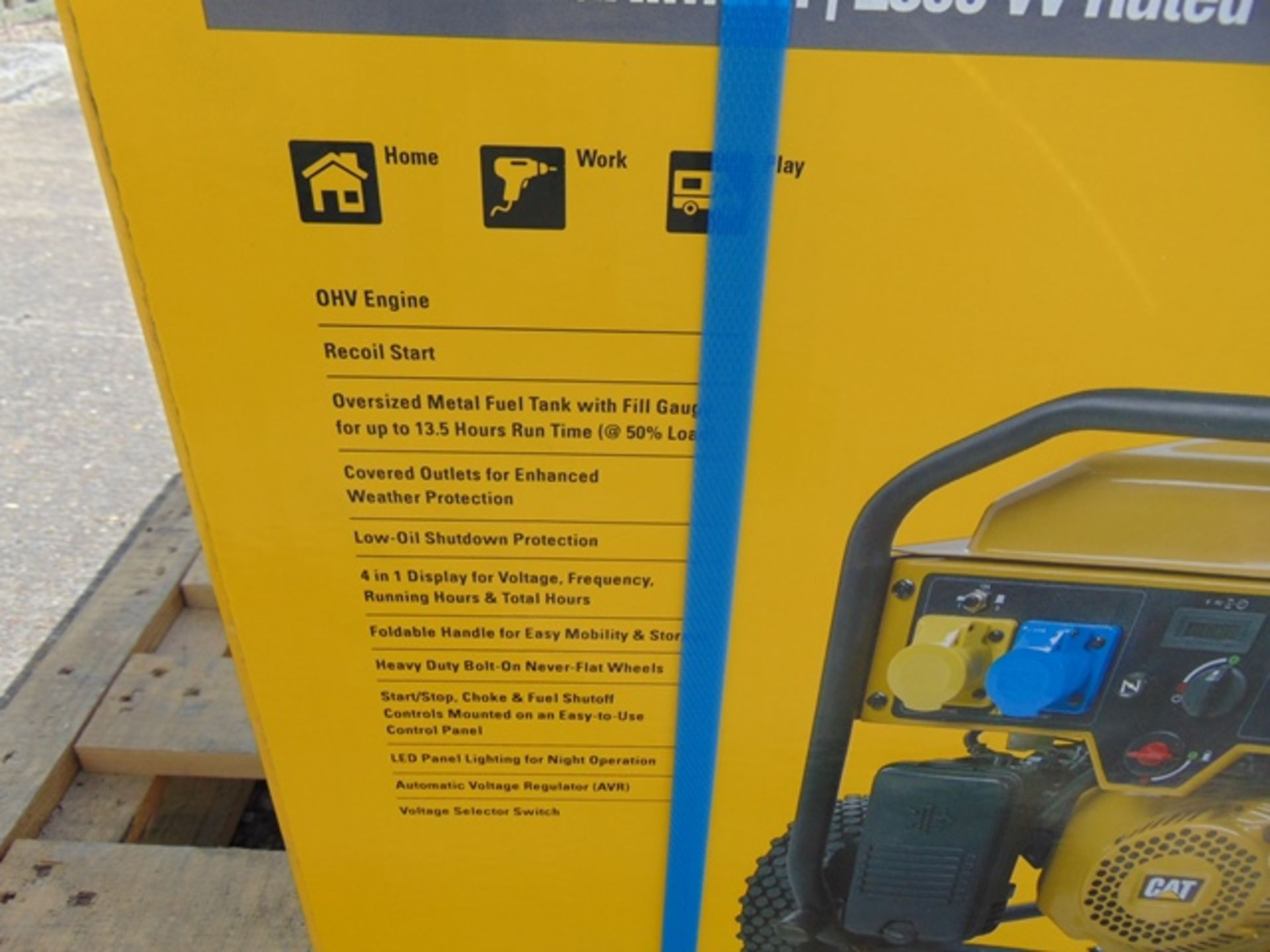 Lot 43 - UNISSUED Caterpillar RP3100 industrial Petrol Generator Set