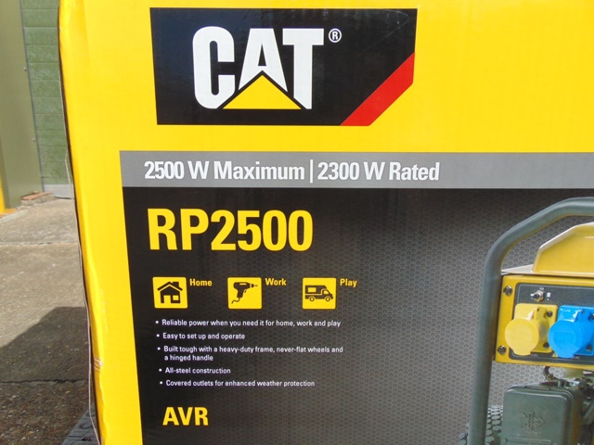 Lot 45 - UNISSUED Caterpillar RP2500 Industrial Petrol Generator Set
