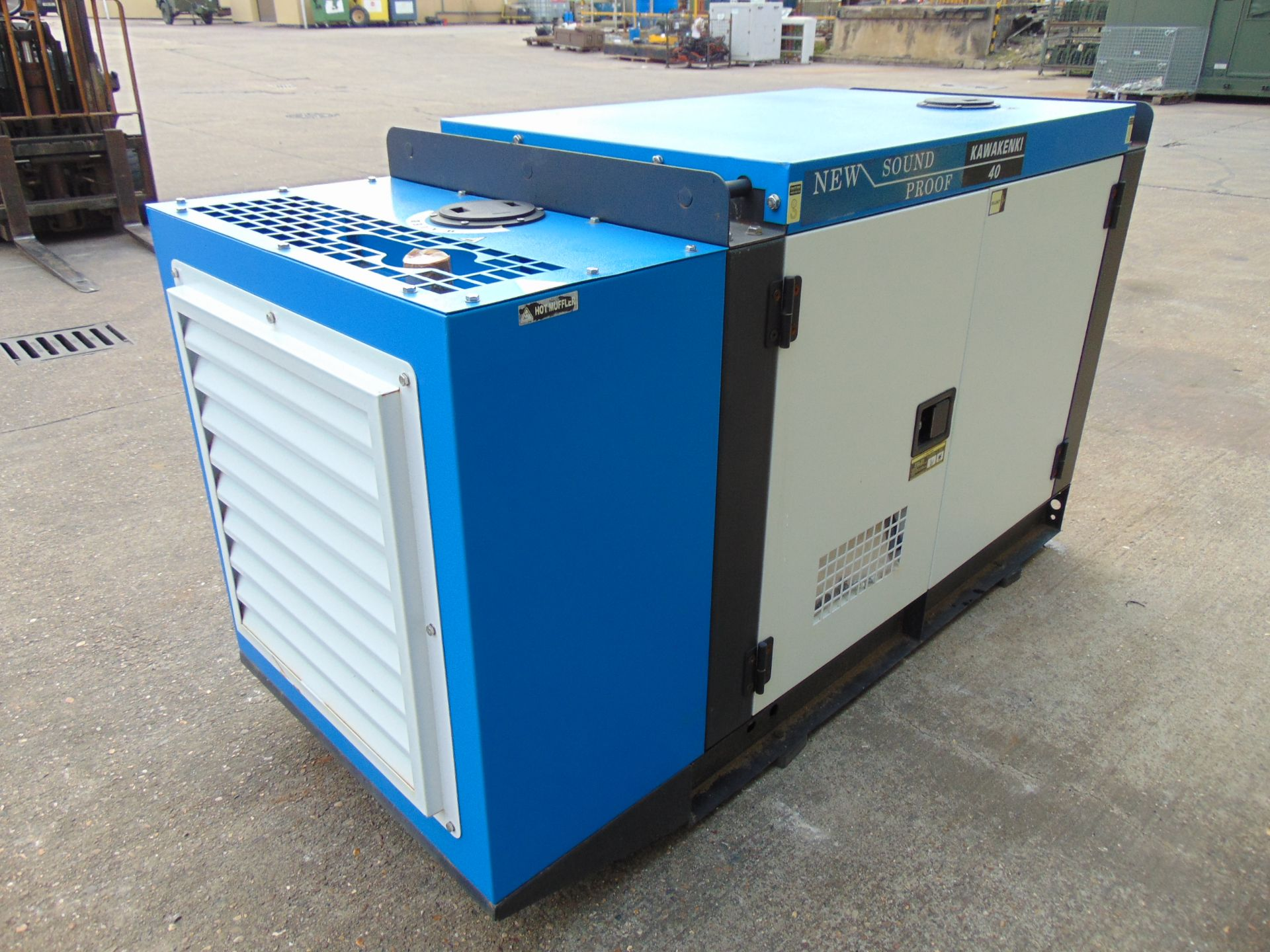 Lot 39 - UNISSUED 40 KVA 3 Phase Silent Diesel Generator Set