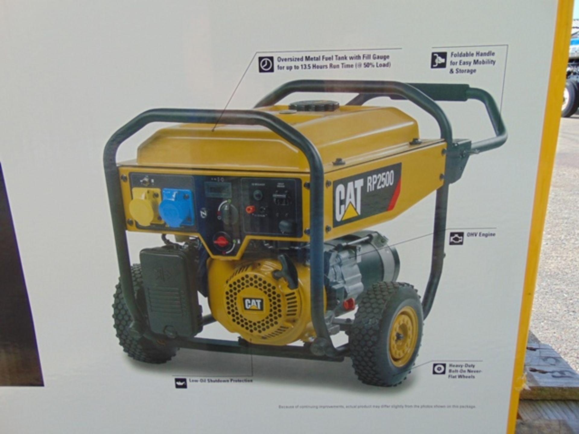 Lot 31 - UNISSUED Caterpillar RP2500 Industrial Petrol Generator Set